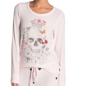 Chaser | Hand Drawn Skull  Graphic Sweatshirt
